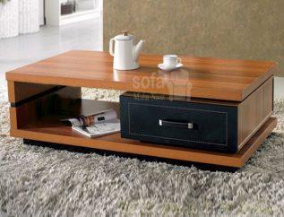 bàn sofa gỗ tự nhiên giá rẻ bs033