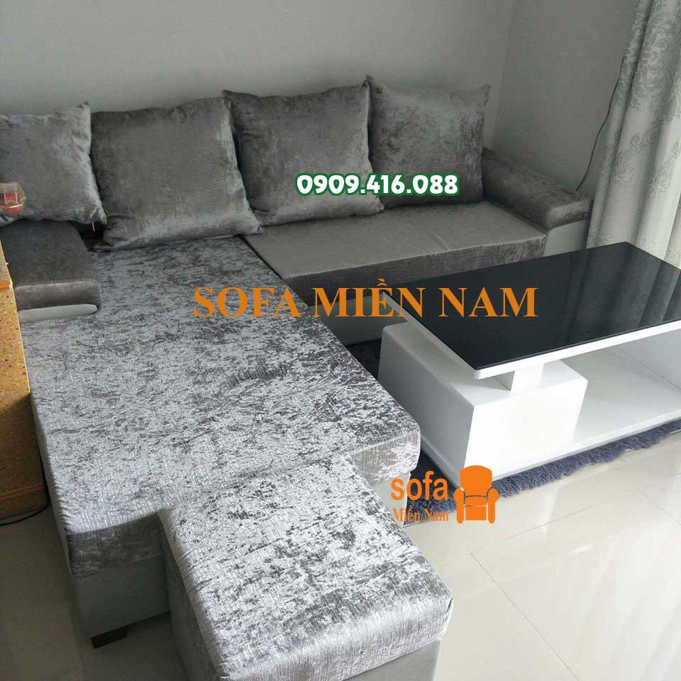 Giao bộ sofa nhà chung cư An Gia Star cho anh Thanh – Bình Trị Đông A, quận Bình Tân TPHCM