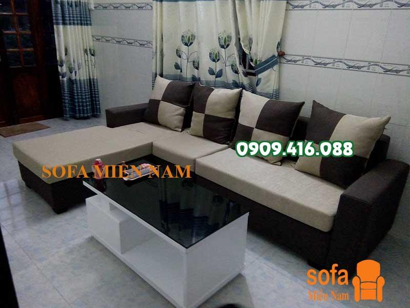 Ghế sofa phòng khách đẹp giá rẻ Sofa Miền Nam giao khách tại huyện Đất Đỏ tỉnh Bà Rịa Vũng Tàu