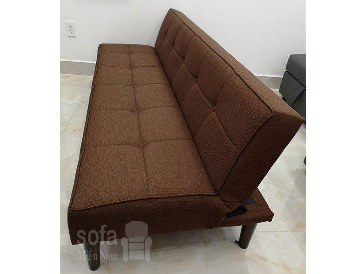ghe sofa da nang lat ra thanh giuong sg011