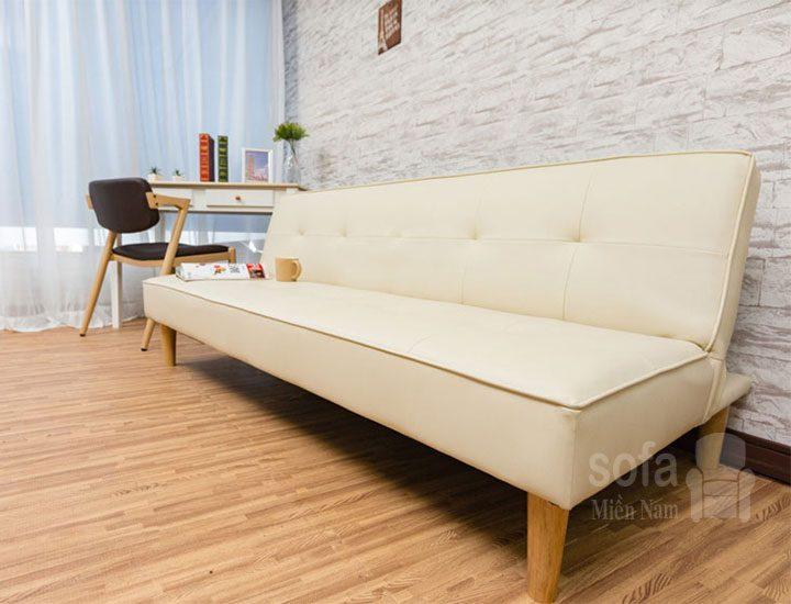 ghế sofa bed giá rẻ da nhập khẩu sg055