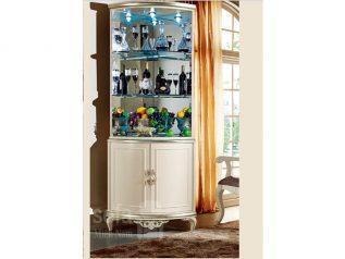Tủ rượu nhập khẩu gỗ mặt kính đẹp giá rẻ kiểu dáng hiện đại màu sắc trang nhã nhiều chỗ để đồ TR016