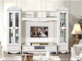 Tủ rượu nhập khẩu gỗ mặt kính đẹp giá rẻ kiểu dáng hiện đại màu sắc trang nhã nhiều chỗ để đồ TR025